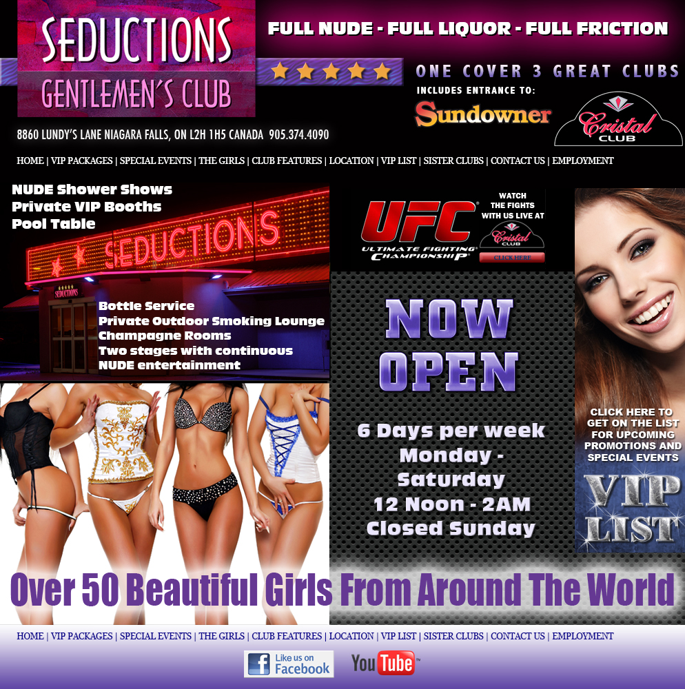 Seductions Club Niagara Falls Canada
